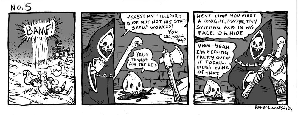 No. 5: Teleport dude spell