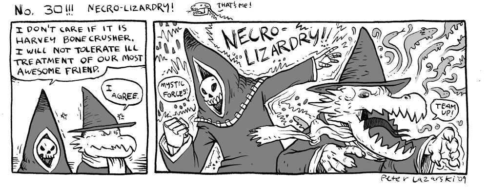 No 30: Necro Lizardry