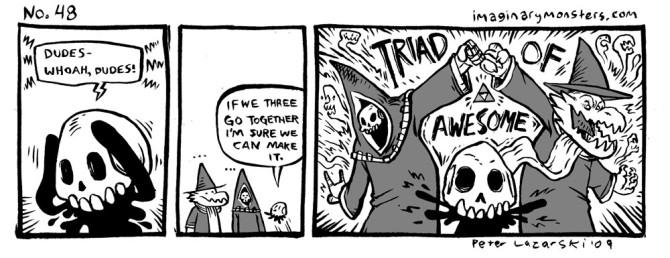 No 48: Triad of Awesome