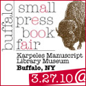 Buffalo Small Press Book Fair 3/27/10
