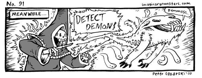 No 91: Detect Demon