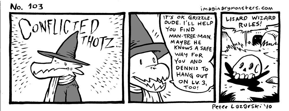 No 103: Lizard Wizard rules