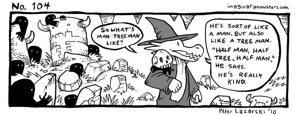 No 104: Man Tree Man
