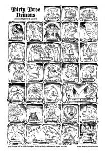 Thirty Three Demons