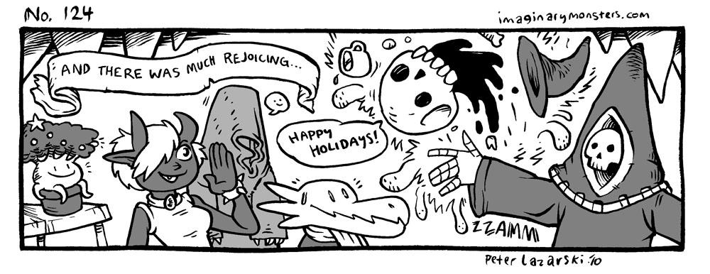 No 124: Happy Holidays