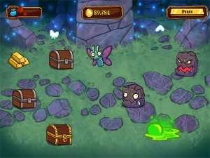 Treasure Swipe gameplay screen 2