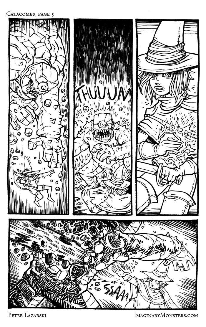 Catacombs 5: Plummeting Depths