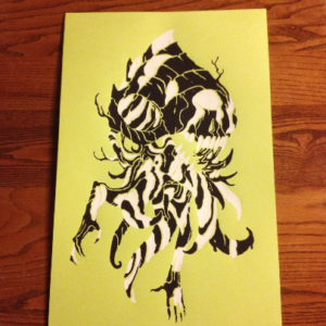print_zebra-nightmare_black_white_skull_screenprint_01