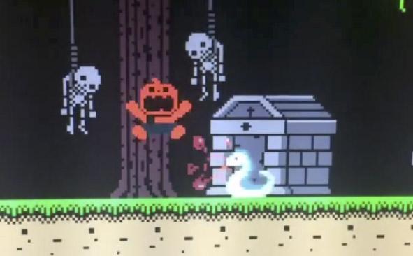 Halloween Forever Dev Blog: Knockback, bosses, platforms