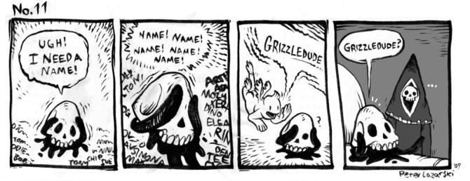 No. 11: Grizzledude