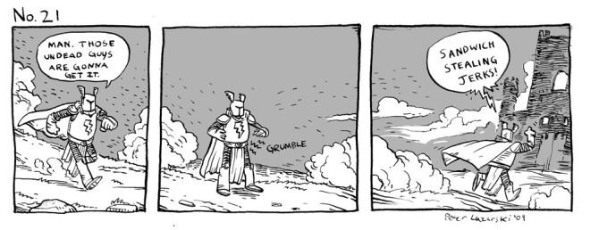 No. 21: Grumble