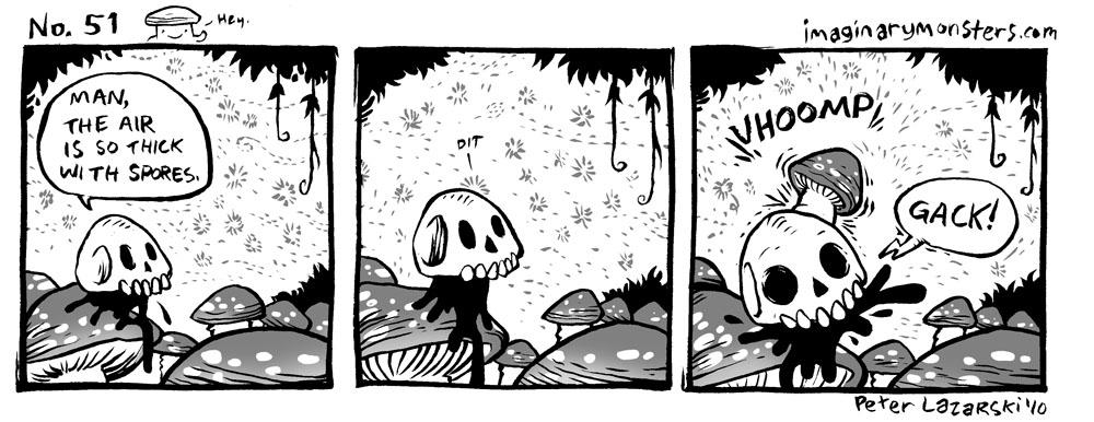 No 51: Spores