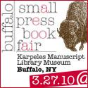 Buffalo Small Press Book Fair 3/27/10