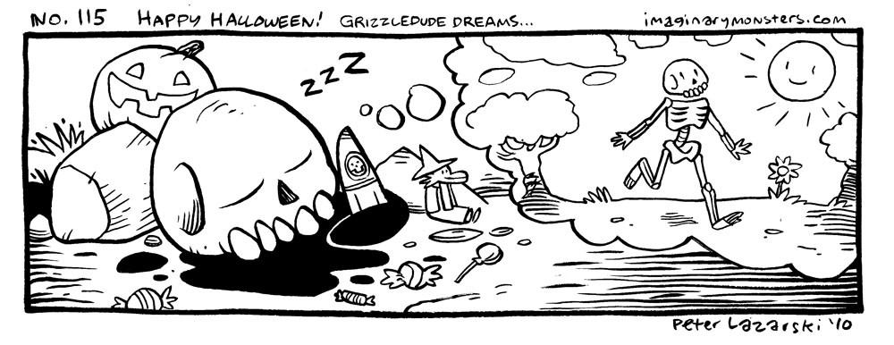 No 115: Grizzledude dreams