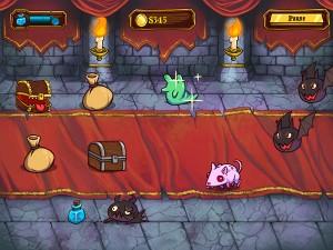 Treasure Swipe gameplay screen 1