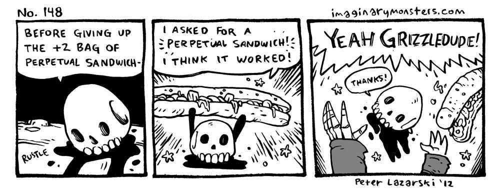 No 148: Perpetual Sandwich